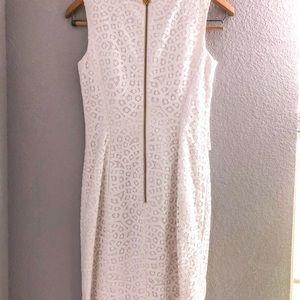 Antonio Milani white lace dress